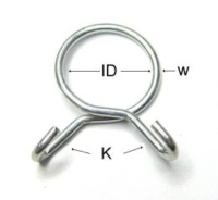 Spring Type Hose Clamps-3 / Single Wire Hose Clamps