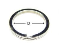 Flat Type Key Ring