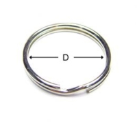 Standard Key Ring / Round Type Key Ring / Split Ring