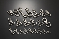 Cens.com ZINC SNAP HOOKS / PETS CHAINS / KEY RINGS / SAFETY EYE HOOKS / SWIVEL EYE SNAP HOOK   NAN SHUN SPRING CO., LTD.