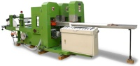 Pocket-Size Facial Tissue / Embossed Paper Handkerchief (Wet/Dry use) Making Machine
