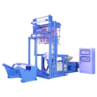 Cens.com Ldpe/Lldpe/Hdpe Blowing Film Making Machine (Mini Type) SAN CHYI MACHINERY INDUSTRIAL CO., LTD.