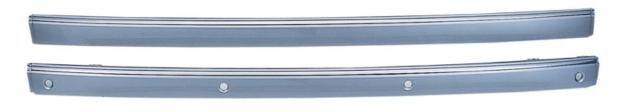 後桿飾板(中/附電鍍飾條/無電眼孔) ABS+PC W211 02-06