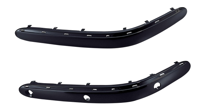 前杆饰板(有电眼孔)LH W220(S320) 98-00