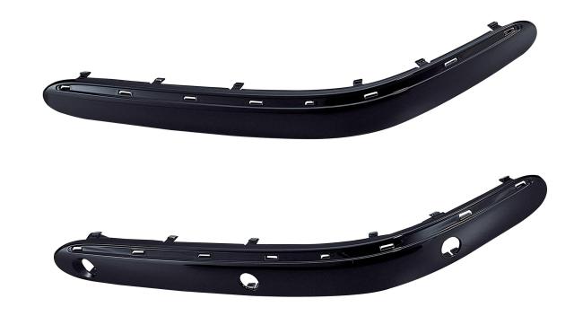 前杆饰板(有电眼孔)RH W220(S320) 98-00