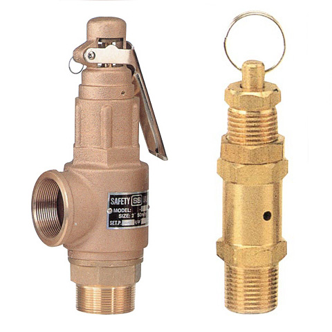 Small  Boiler  Safety Valve