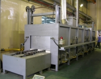 Chain Type Centrifugal Casting Preheating