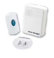 Long distance wireless doorbell