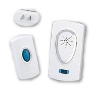 Plug-in wireless doorbell