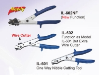 Cens.com IL-602NF (New Function)/IL-601 One Way Nibble Cutting Tool / IL-602 Function as Madel/  RONG GHAO INDUSTRY CO., LTD.