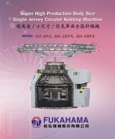 Super High Production Body Size Single Jersey Circular Knitting Machine