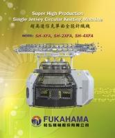 Super High Production Single Jersey Circular Knitting Machine