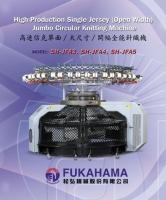 High Production Single Jersey(Open Width) Jumbo Circular Knitting Machine