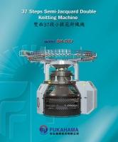 37 Steps Semi-Jacquard Double Circular Knitting Machine
