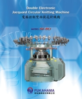 Cens.com Double Electronic Jacquard Circular Knitting Machine FUKAHAMA MACHINERY CO., LTD.