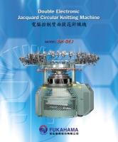 Double Electronic Jacquard Circular Knitting Machine