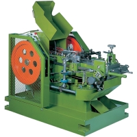 Semi-tubular Rivet-heading Machine