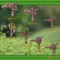 Brass full/part circle impact sprinklers