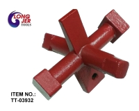 CLEANOUT PLUG WRENCH (DRUM TRAP WRENCH) FOR HARDWARE TOOLS