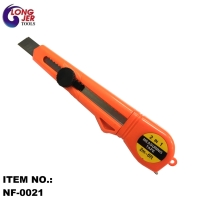 DRYWALL ALL-IN-ONE HAND TOOL WITH MEASURING TAPE AND UTILITY KNIFE