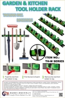 M Type TOOL HOLDER RACK FOR GARDEN & CLEANING STORAGE TOOLS HOLDER