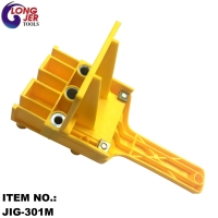 30mm YELLOW SILVERLINE WOODEN DOWEL JIG FOR DECORATIVE WOODWORKING TOOLS