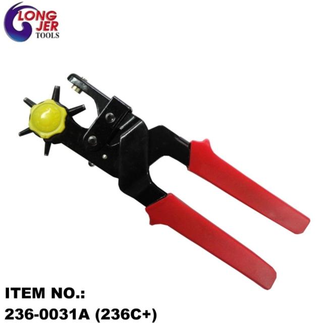 236-0031A (236C+) 皮革紙器塑膠板省力打孔鉗