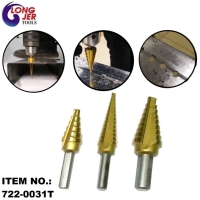 3PCS TITIAN STEP DRILL BIT SET & 4PCS TITIAN STEP DRILL BIT SET