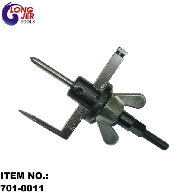 ADJUSTABLE HOLE CUTTER FOR FLOOR