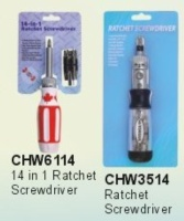 Ratchet screwdrivers
