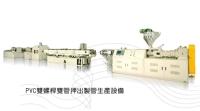 Twin Screw PVC Dual Line Rigid Pipe Making Machine
