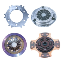 Clutches and Clutch Pressure Plates for Racing Cars (multi-plate type)