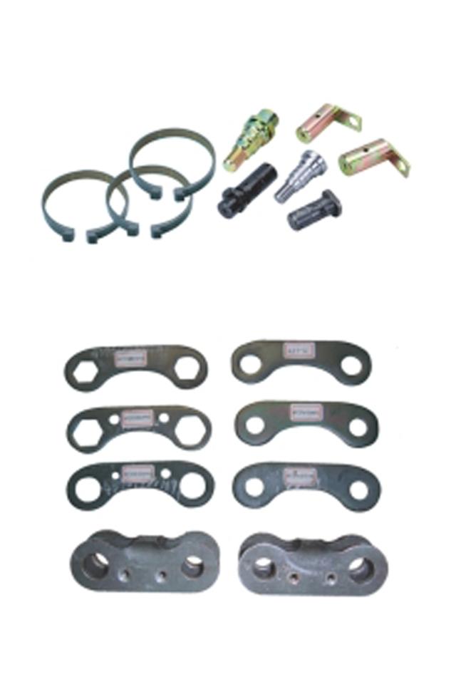 Restraining Brackets / Pins ,Links