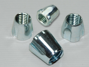 three & four concave conical nuts