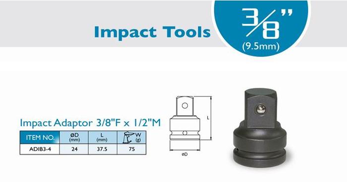 Adaptor Impact 3/8