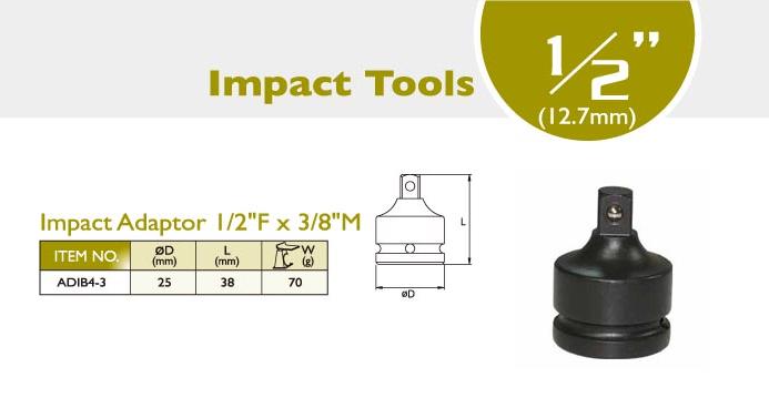 Impact Adaptor 1/2