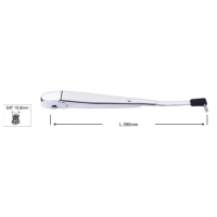 Stainless steel wiper arm for classic cars