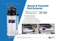 Manual & Pneumatic Fluid Extractor