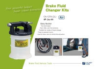Brake Fluid Changer Kits