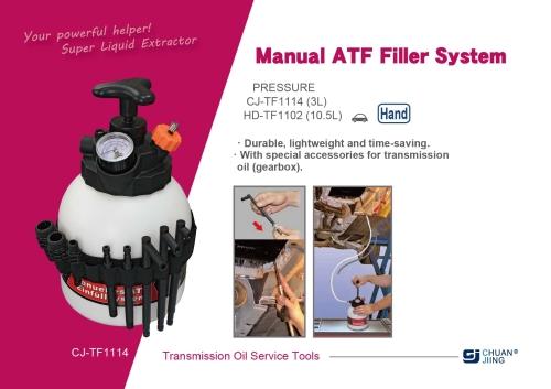 Manual ATF Filler System