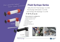 Fluid Syringe Series