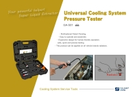 Universal Cooling System Pressure Tester