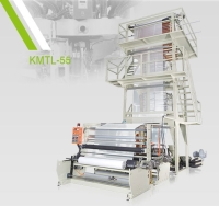 TWO LAYER HDPE/LDPE/ LLDPE HIGH SPEED PLASTIC INFLATION MACHINE