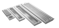 Stainless steel linear floor drain, Shower Drains
