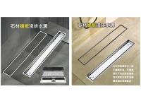 Tiled Linear Shower Drains, Shower floor drains