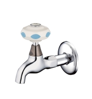 Faucet for visually handicapped