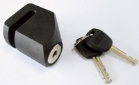 STEEL DISC LOCK WITH ANTI DRILL CYLINDER