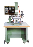 Pneumatic plane hot-stamping machine with elbow & air control