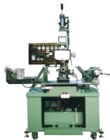 Hydraulic cone/segment hot-stamping & transfer-printing machine