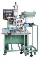 Pneumatic, automatic sphere hot-stamping machine